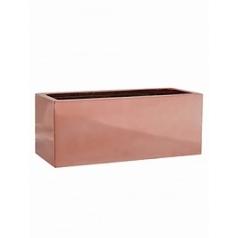 Кашпо Pottery Pots Fiberstone platinum rose balcony S размер Длина — 50 см