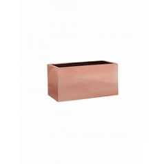 Кашпо Pottery Pots Fiberstone platinum rose balcony XS размер Длина — 40 см