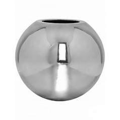 Кашпо Pottery Pots Fiberstone platinum под цвет серебра beth M размер  Диаметр — 50 см