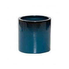 Кашпо Pottery Pots Fiberstone puk S размер gradient teal  Диаметр — 15 см