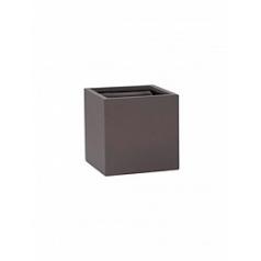 Кашпо Pottery Pots Fiberstone revival matt liver block S размер Длина — 30 см
