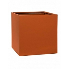 Кашпо Pottery Pots Fiberstone revival matt terracotta block L размер Длина — 50 см