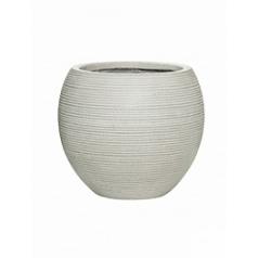 Кашпо Pottery Pots Fiberstone ridged cement abby M размер horizontal  Диаметр — 345 см