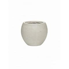 Кашпо Pottery Pots Fiberstone ridged cement abby S размер horizontal  Диаметр — 23 см
