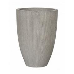 Кашпо Pottery Pots Fiberstone ridged cement ben L размер  Диаметр — 465 см