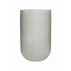 Кашпо Pottery Pots Fiberstone ridged cement cody L размер horizontal  Диаметр — 42 см