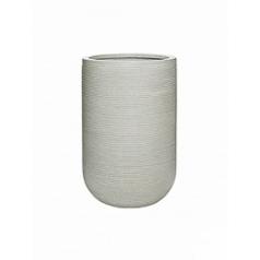 Кашпо Pottery Pots Fiberstone ridged cement cody M размер horizontal  Диаметр — 35 см
