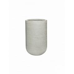 Кашпо Pottery Pots Fiberstone ridged cement cody S размер horizontal  Диаметр — 28 см