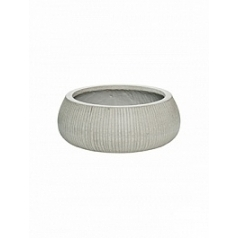 Кашпо Pottery Pots Fiberstone ridged cement eileen XL размер  Диаметр — 36 см