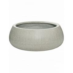 Кашпо Pottery Pots Fiberstone ridged cement eileen XXL размер  Диаметр — 53 см