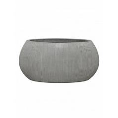 Кашпо Pottery Pots Fiberstone ridged cement ella M размер Длина — 72 см