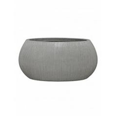 Кашпо Pottery Pots Fiberstone ridged cement ella S размер Длина — 46 см
