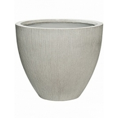Кашпо Pottery Pots Fiberstone ridged cement jesslyn S размер  Диаметр — 51 см