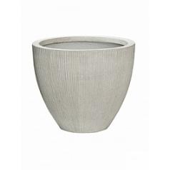Кашпо Pottery Pots Fiberstone ridged cement jesslyn XS размер  Диаметр — 415 см