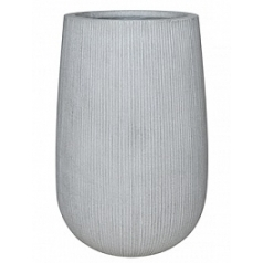 Кашпо Pottery Pots Fiberstone ridged cement patt high M размер  Диаметр — 44 см