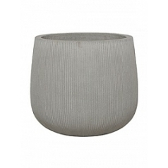 Кашпо Pottery Pots Fiberstone ridged cement pax L размер  Диаметр — 55 см