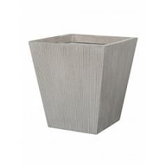Кашпо Pottery Pots Fiberstone ridged cement thom XS размер Длина — 36 см
