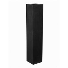 Кашпо Pottery Pots Fiberstone yenn black, чёрного цвета M размер Длина — 25 см