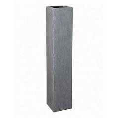 Кашпо Pottery Pots Fiberstone yenn grey, серого цвета M размер Длина — 25 см