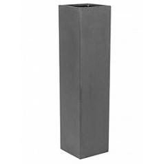 Кашпо Pottery Pots Fiberstone yenn grey, серого цвета S размер Длина — 25 см