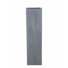 Кашпо Pottery Pots Fiberstone ying grey, серого цвета Длина — 40 см