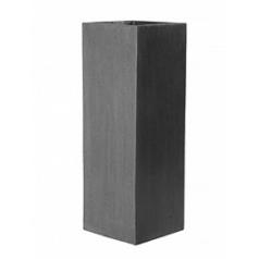 Кашпо Pottery Pots Fiberstone yong grey, серого цвета Длина — 35 см
