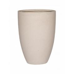 Кашпо Pottery Pots Refined ben L размер natural white, белого цвета  Диаметр — 40 см