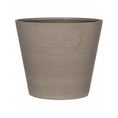 Кашпо Pottery Pots Refined bucket M размер clouded grey, серого цвета  Диаметр — 58 см