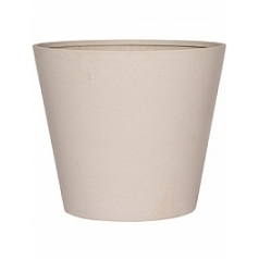 Кашпо Pottery Pots Refined bucket M размер natural white, белого цвета  Диаметр — 58 см