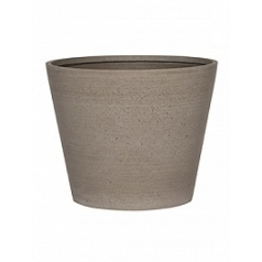 Кашпо Pottery Pots Refined bucket S размер clouded grey, серого цвета  Диаметр — 50 см