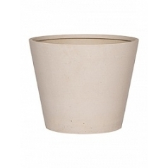 Кашпо Pottery Pots Refined bucket S размер natural white, белого цвета  Диаметр — 50 см