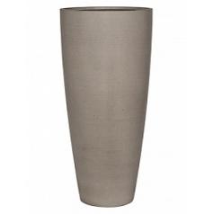 Кашпо Pottery Pots Refined dax XL размер clouded grey, серого цвета  Диаметр — 465 см