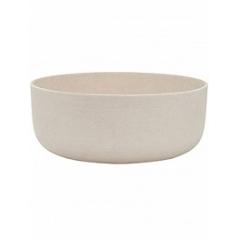 Кашпо Pottery Pots Refined eav S размер natural white, белого цвета  Диаметр — 31 см