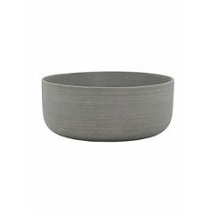 Кашпо Pottery Pots Refined eav XS размер clouded grey, серого цвета  Диаметр — 27 см