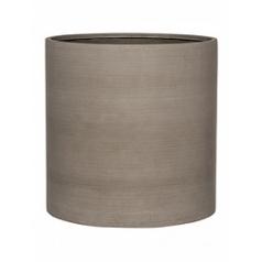 Кашпо Pottery Pots Refined max L размер clouded grey, серого цвета  Диаметр — 50 см