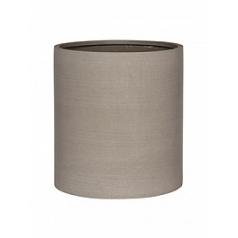 Кашпо Pottery Pots Refined max M размер clouded grey, серого цвета  Диаметр — 425 см
