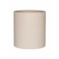 Кашпо Pottery Pots Refined max M размер natural white, белого цвета  Диаметр — 425 см