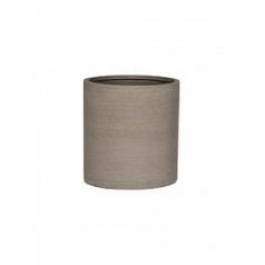 Кашпо Pottery Pots Refined max S размер clouded grey, серого цвета  Диаметр — 29 см