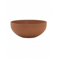 Кашпо Pottery Pots Refined morgana xxs canyon orange  Диаметр — 30 см