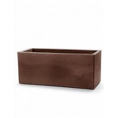 Кашпо TeraPlast Schio Cassa 120 bronze, бронзового цвета Длина — 115 см