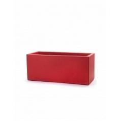 Кашпо TeraPlast Schio Cassa 80 cardinal red, красного цвета Длина — 80 см