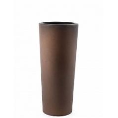 Кашпо TeraPlast Schio Cono 110 bronze, бронзового цвета  Диаметр — 45 см