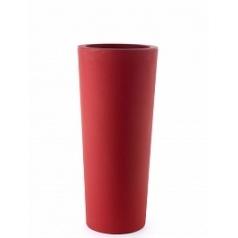 Кашпо TeraPlast Schio Cono 110 cardinal red, красного цвета  Диаметр — 45 см