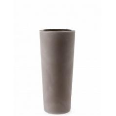 Кашпо TeraPlast Schio Cono 90 cappuccino, каппуччино  Диаметр — 40 см