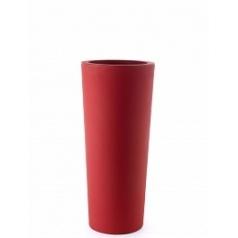 Кашпо TeraPlast Schio Cono 90 cardinal red, красного цвета  Диаметр — 40 см
