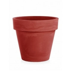Кашпо TeraPlast Standard One 100 cardinal red, красного цвета  Диаметр — 100 см