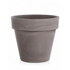 Кашпо TeraPlast Standard One 120 cappuccino  Диаметр — 120 см