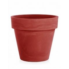Кашпо TeraPlast Standard One 120 cardinal red, красного цвета  Диаметр — 120 см