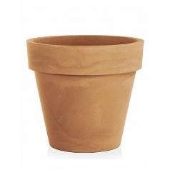 Кашпо TeraPlast Standard One 120 light brown, коричнево-бурого цвета  Диаметр — 120 см