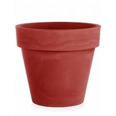 Кашпо TeraPlast Standard One 140 cardinal red, красного цвета  Диаметр — 140 см